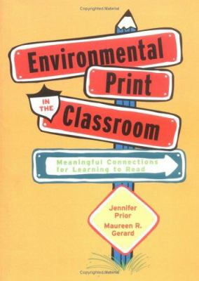 Environmental Print in the Classroom 9780872075535
