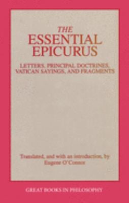 Essential Epicurus 9780879758103