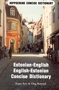 Estonian-English/English-Estonian Standard Dictionary 9780870520815