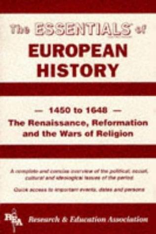 European History: 1450 to 1648