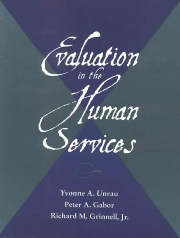 Evaluation in the Human Services 9780875814445