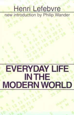Everyday Life in the Modern World 9780878559725
