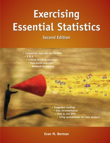 Exercising Essential Statistics, 2nd Edition 9780872893320