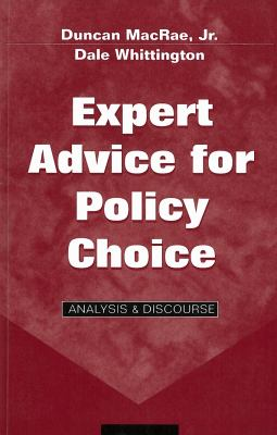 Expert Advice for Policy Choice: Analysis & Discourse