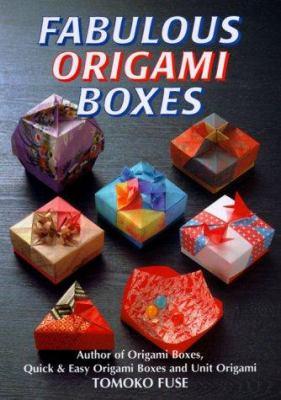 Fabulous Origami Boxes 9780870409783