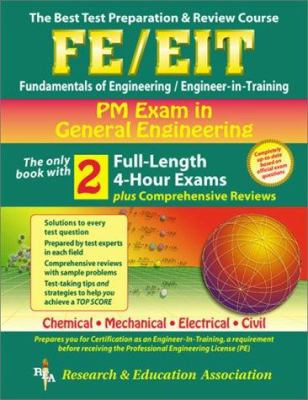 Fe-EIT PM - General Engineering (Rea) - The Best Test Prep for the EIT Exam 9780878912612