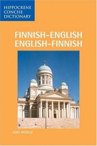 Finnish-English, English-Finnish Dictionary 9780870528132