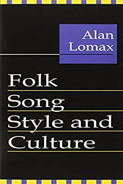 Folk Song Style and Culture 9780878556403