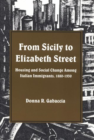 From Sicily to Elizabeth Street: Housing and Social Change Among Italian Immigrants, 1880-1930 9780873957694