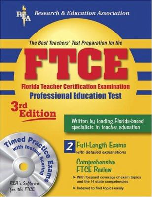 Ftce Professional Education W/ CD-ROM (Rea) the Best Test Prep: 3rd Edition 9780878911172