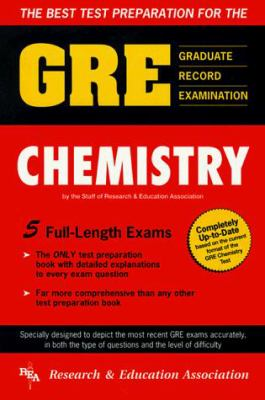GRE Chemistry (Rea) - The Best Test Prep for the GRE 9780878916009