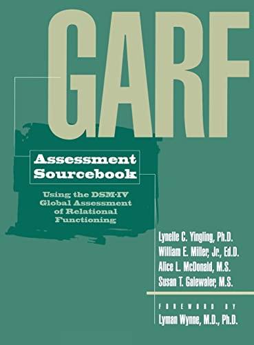 Garf Assessment Sourcebook 9780876308646