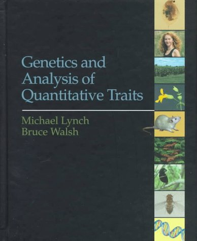 Genetics and Analysis of Quantitative Traits 9780878934812