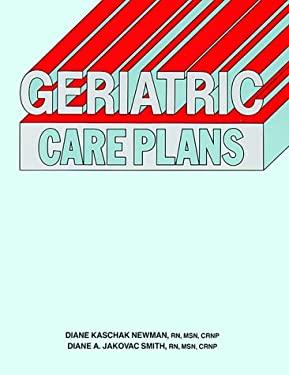 Geriatric Care Plans 9780874342635