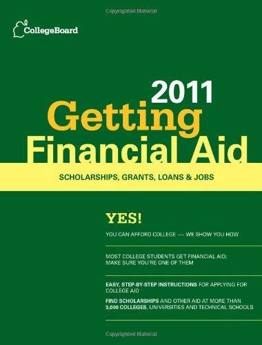 Getting Financial Aid 9780874479058