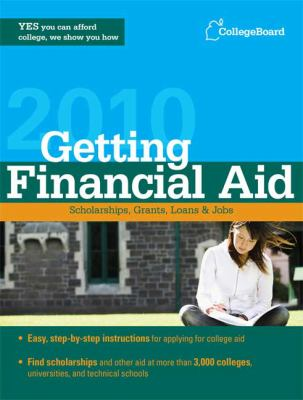 Getting Financial Aid Handbook 9780874478488