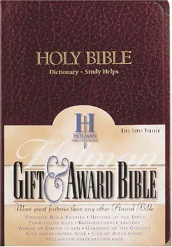 Gift & Award Bible-KJV 9780879814632