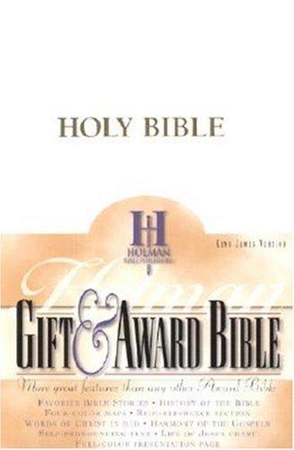 Gift & Award Bible-KJV 9780879814649
