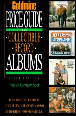 Goldmine's Price Guide to Collectible Record Albums 9780873413749
