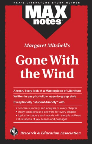 Gone with the Wind (Maxnotes Literature Guides) 9780878919550
