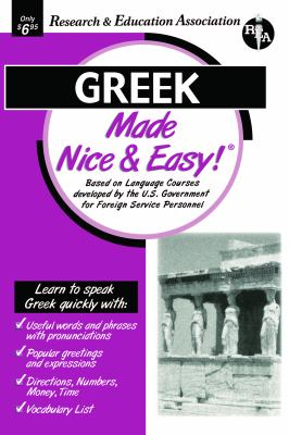 Greek Made Nice & Easy 9780878913701