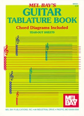 Guitar Tablature Book 9780871667687