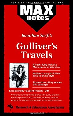 Gulliver's Travels (Maxnotes Literature Guides) 9780878910151