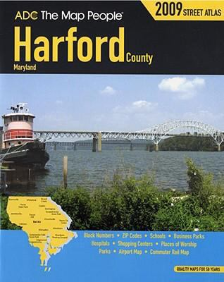 Harford County, Maryland Street Atlas 9780875306735