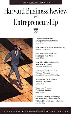 Harvard Business Review on Entrepreneurship 9780875849102