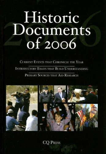 Historic Documents of 2006 9780872893740