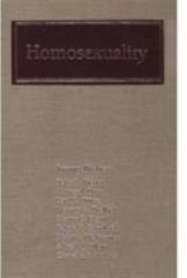 Homosexuality: A Psychoanalytic Study 9780876689899