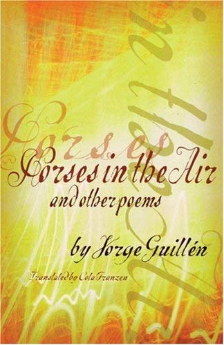 Horses in the Air and Other Poems 9780872863521