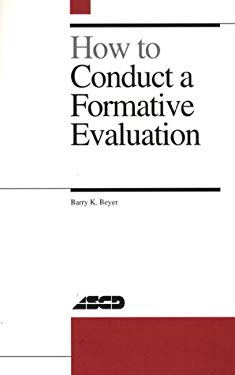 How to Conduct a Formative Evaluation 9780871202444