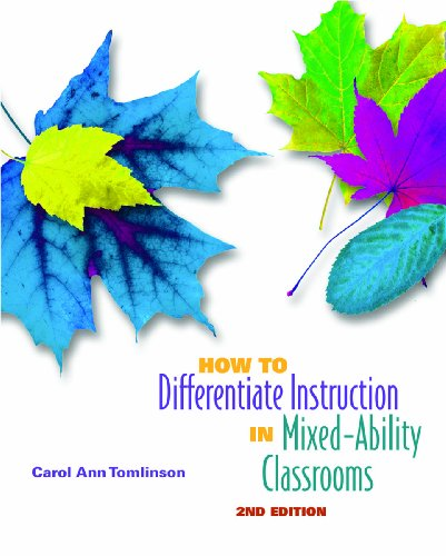 How to Differentiate Instruction in Mixed-Ability Classrooms 9780871205124