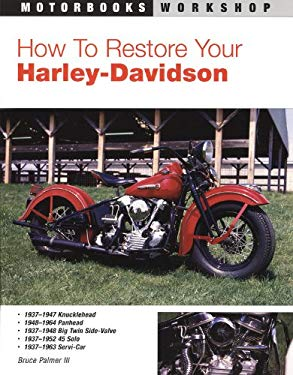 How to Restore Your Harley-Davidson Motorcycle 9780879389345