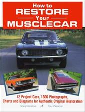 How to Restore Your Musclecar 3920252