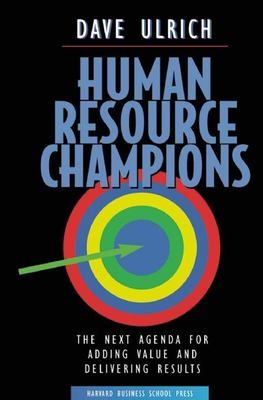 Human Resource Champions 9780875847191