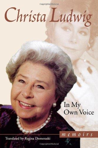 In My Own Voice: Memoirs 9780879102814