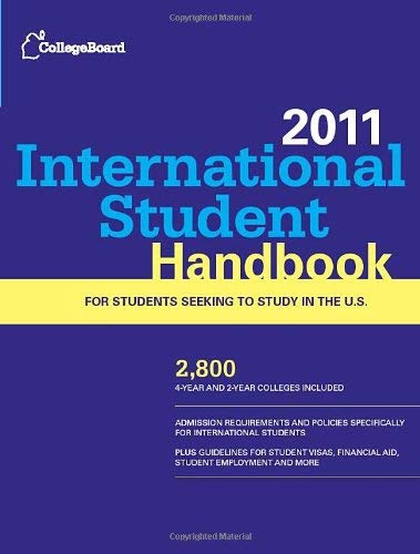 College Board International Student Handbook 9780874479089