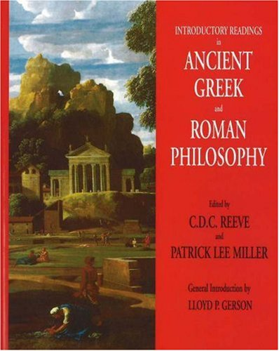 Introductory Readings in Ancient Greek and Roman Philosophy 9780872208308
