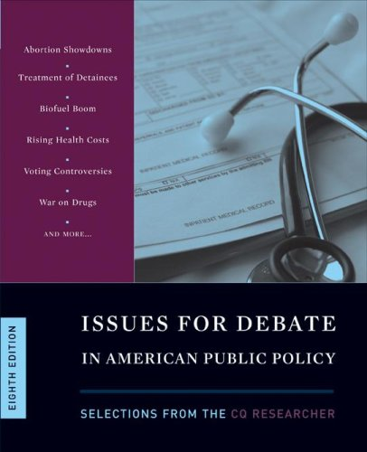 Issues for Debate in American Public Policy 9780872894648