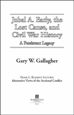 gary w gallagher and the civil war Prof gary gallagher presents a thorough survey of the american civil war, concentrating almost exclusively on the period between 1861 and 1865.