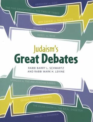 Judaism's Great Debates 9780874418521