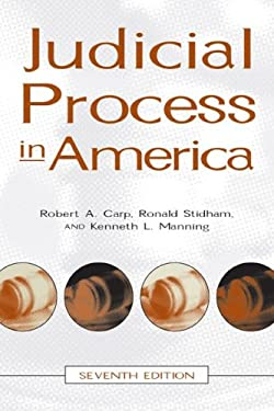Judicial Process in America 9780872893412