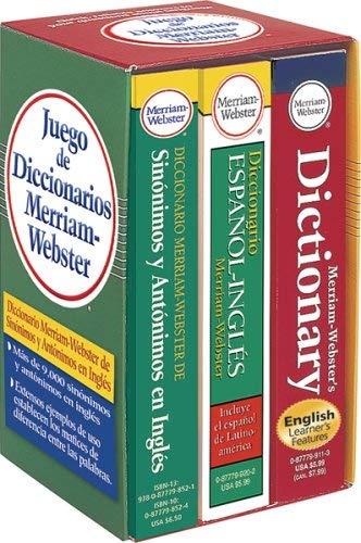Juego de Diccionarios Merriam-Webster 9780877798903