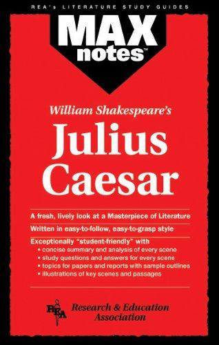 Julius Caesar (Maxnotes Literature Guides) 9780878919482