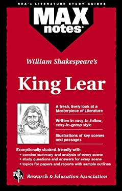 King Lear (Maxnotes Literature Guides) 9780878919895