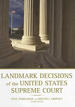 Landmark Decisions of the United States Supreme Court 9780872894099
