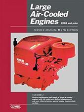 Large Air-Cooled Engines Service Manual: Acme, Briggs and Stratton, Clinton, Craftsman, Honda, Kawasaki, Kohler, Onan, Tecumseh, W 3848481