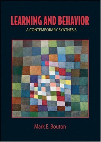Learning and Behavior: A Contemporary Synthesis 9780878930630